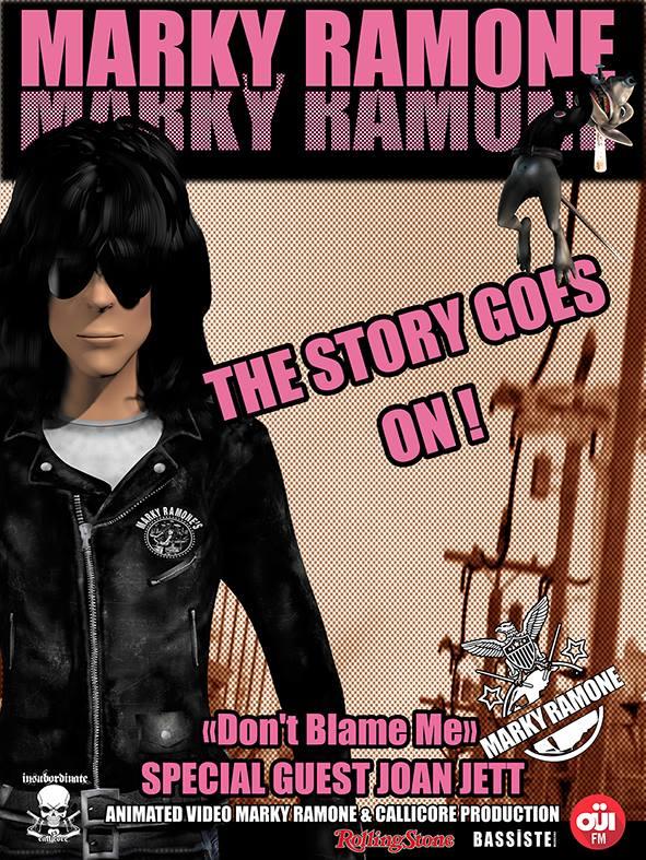 "Marky Ramone ""Don't Blame Me"""